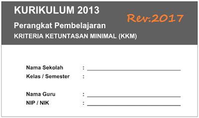 Aplikasi KKM Kurikulum 2013 SD Kelas 1/2/3/4/5/6 Revisi 2017