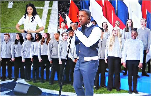 "Super Bowl LII: ""America the Beautiful"" por Leslie Odom Jr."