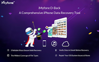 iMyfone D-Back iPhone Data Recovery 5.0.1.1 Full Crack