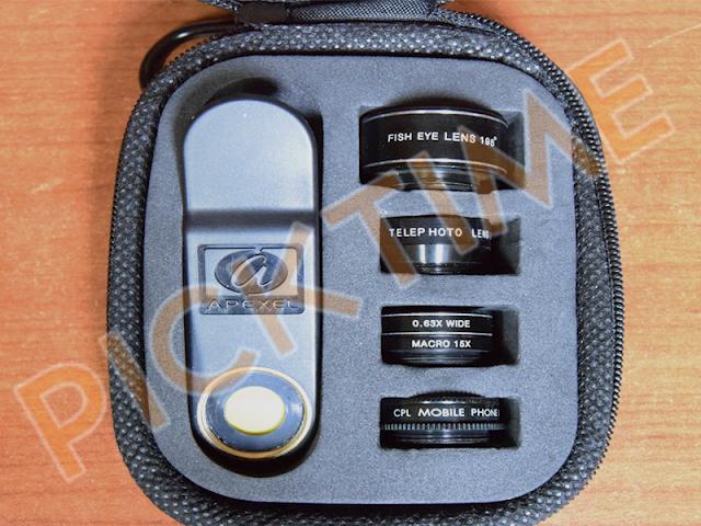 Apexel DG5H - Kit di lenti per smartphone - Recensione