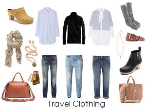 Airline Travel Clothing