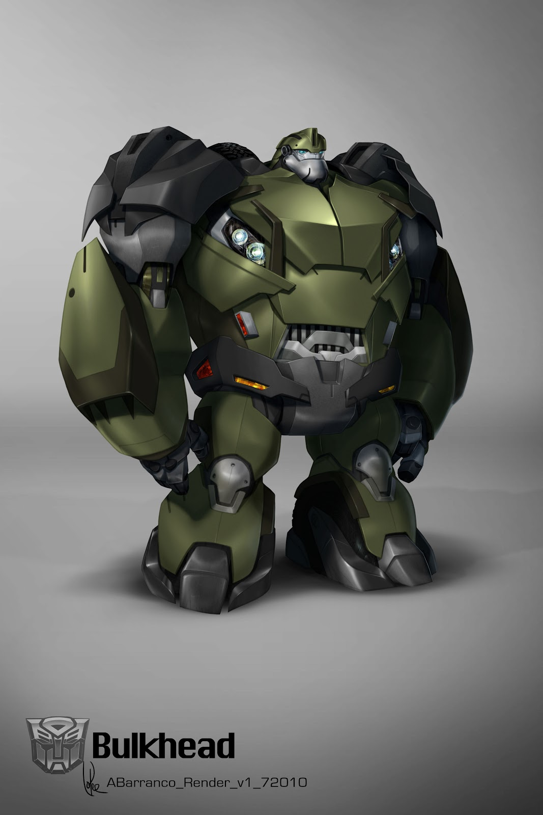 Augusto Barranco: Color and texture designs for the characters in Transformers Prime. All new