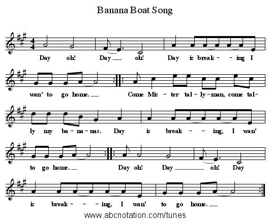 Harry Belafonte – Banana Boat Song Lyrics | Genius Lyrics