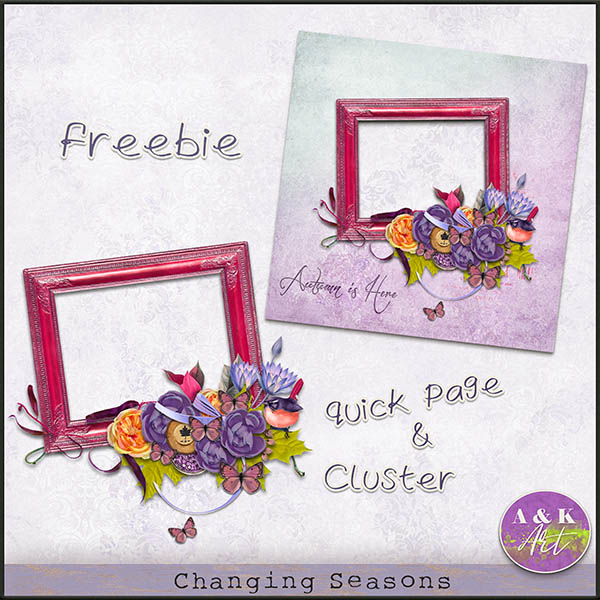 Changing Season freebie