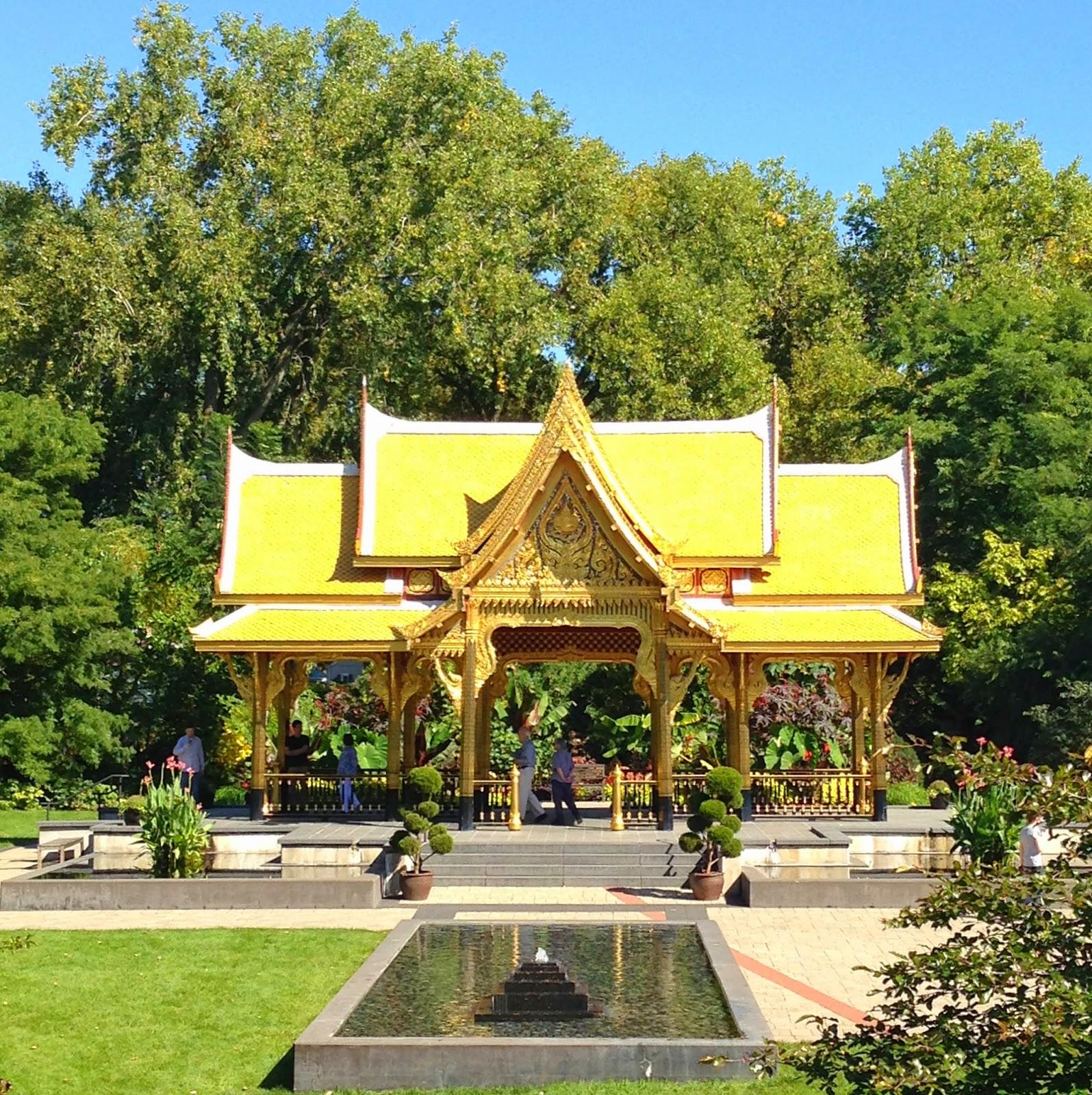 Ageless Traveler: The Enchanting Olbrich Gardens