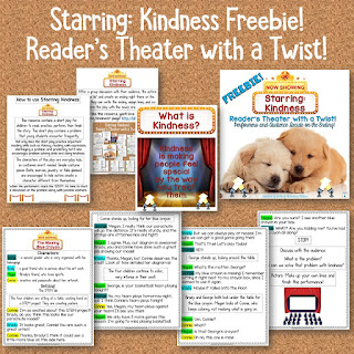 This reader's theater script has a twist: the students make up the ending based on kindness!