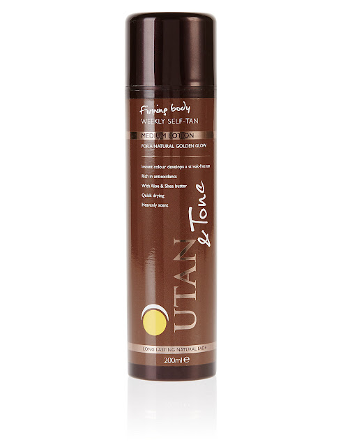 Utan medium tanning body lotion