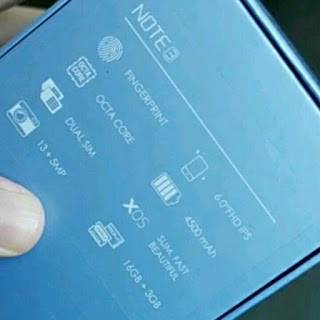 infinix note 3 Spec