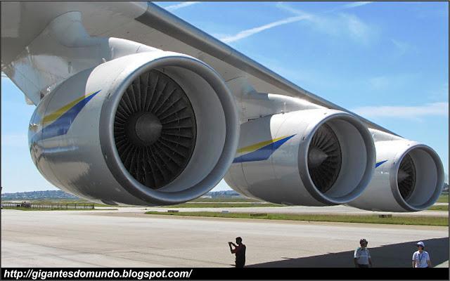 Turbinas do Antonov An-225