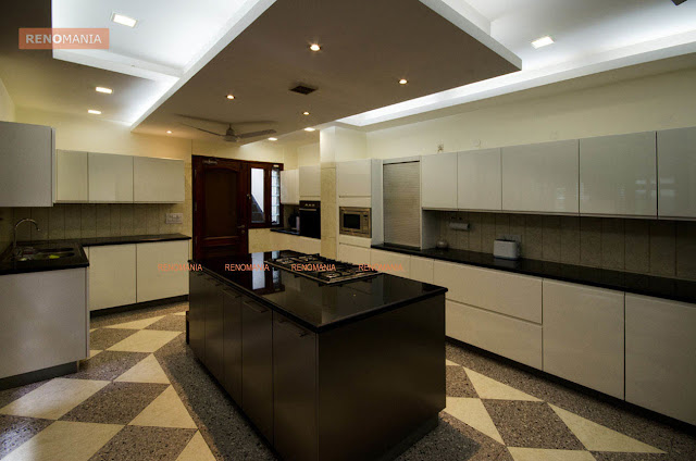 25 gorgeous kitchens designs with gypsum false ceiling lights decor units