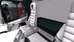 White Green Interior for Scania RJL