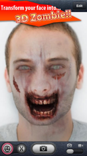 ZombieBooth Rubah Wajah Anda Menjadi Wajah Zombie