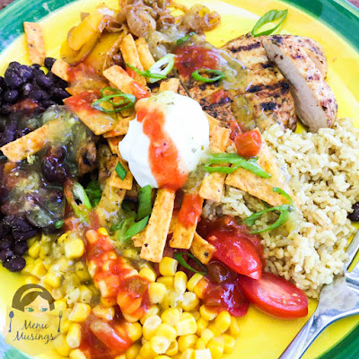 Chicken Fajita Burrito Bowl_menumusings.com