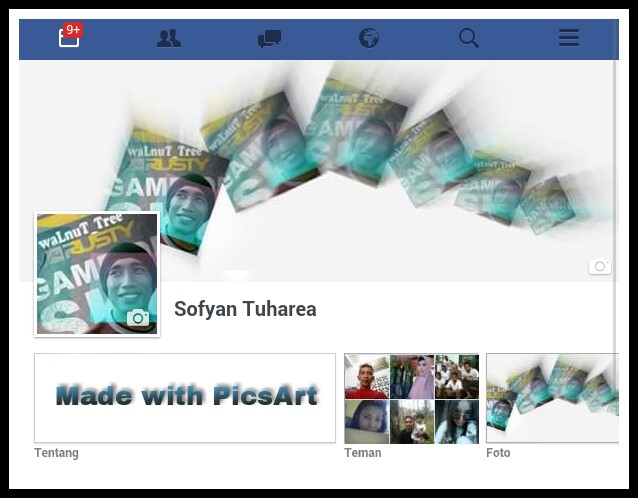 Membuat Cover Facebook dengan PicsArt