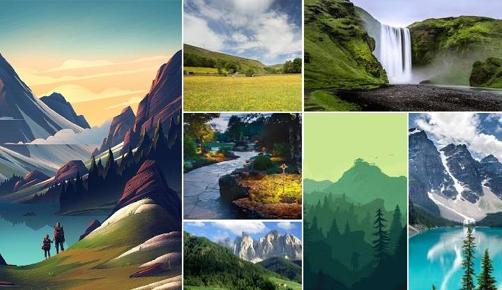 82 Gambar Wallpaper Pemandangan Alam Terbaru Untuk Android & Iphone IOS