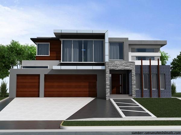 47 gambar rumah minimalis dengan warna cat yang menarik
