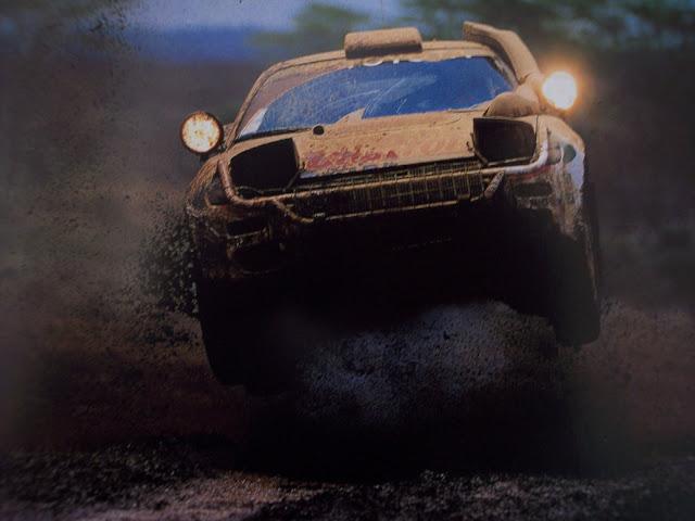 Toyota Celica, rally, badass, ST185