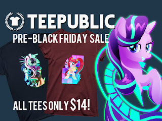 Teepublic Pre-Black Friday Sale: All Shirts $14 + New Designs