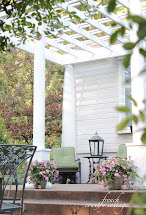 Adding Character Front Porch Pergola - French Country Cottage