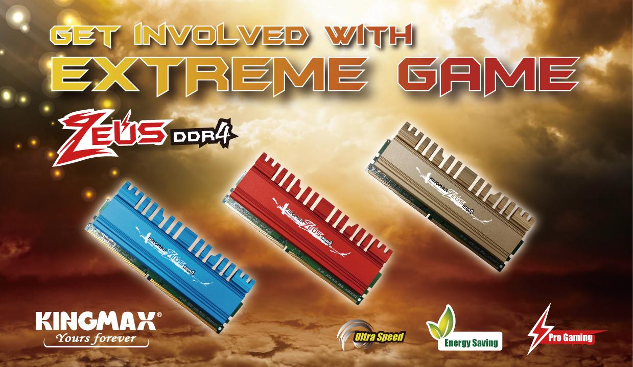 KINGMAX Gaming Memory