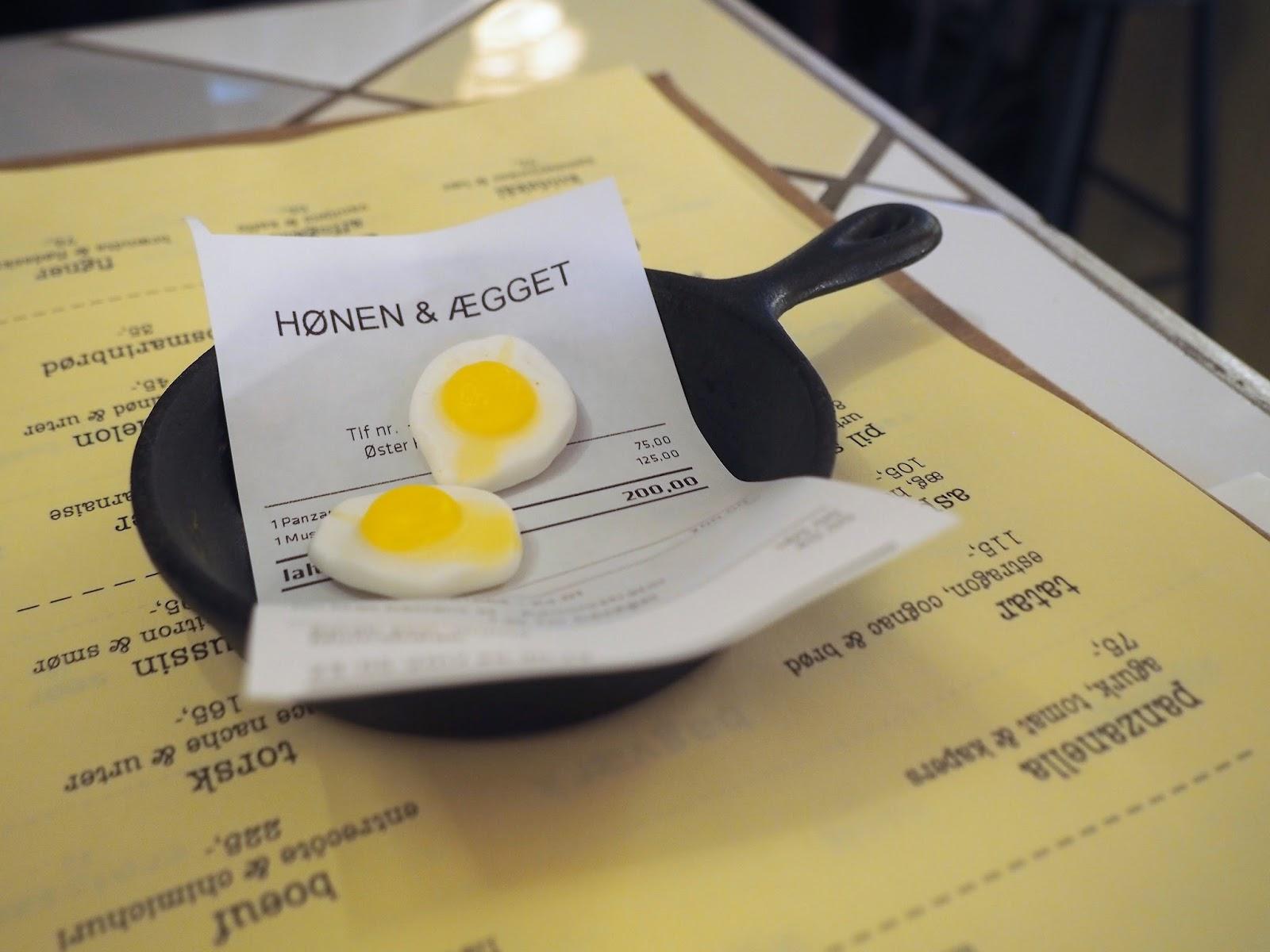 Honen and Egget, Copenhagen