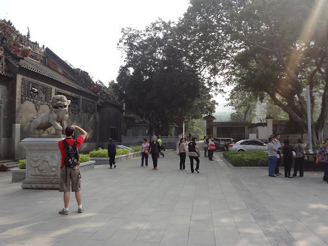 Hall ancestral de Clan Chen en Guangzhou