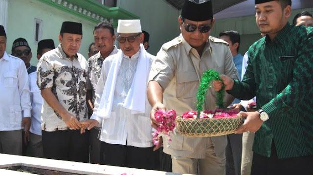 Putra Pendiri NU Doakan Prabowo Menang Pilpres