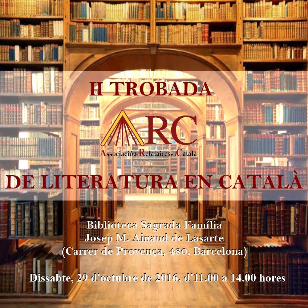 II Trobada ARC de Literatura en Català