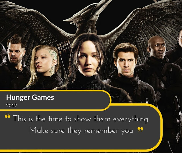 Hunger-Games-2012: This is the time to show them everything. Make sure they remember you.