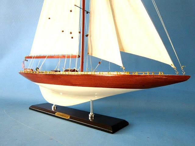 Lionheart J Class Yacht Model Replica