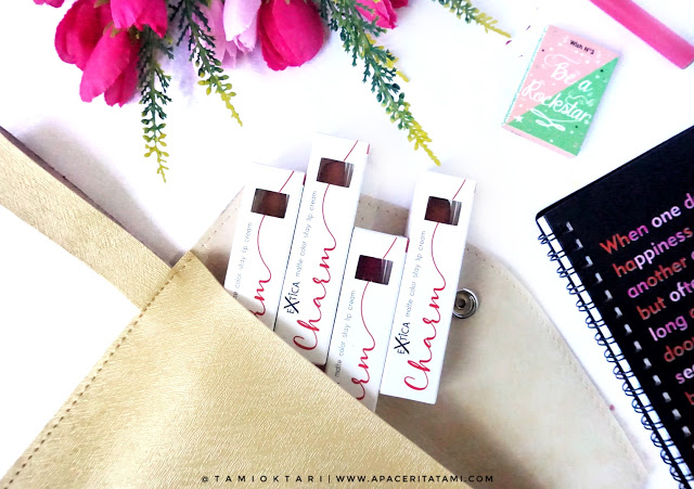 Extica Charm Lip Cream by Tami Oktari