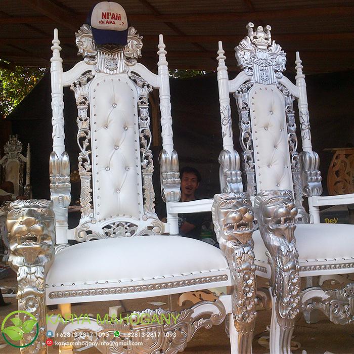 Kursi Raja Majapahit | Harga Kursi Raja Jati