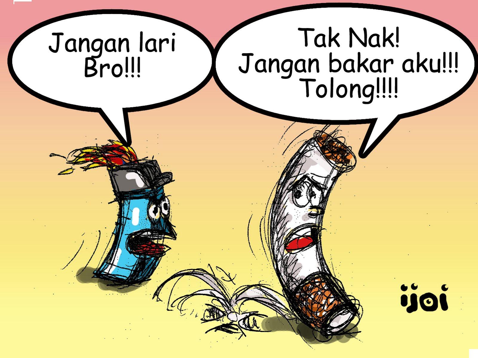 Bahaya Merokok Gambar Animasi Kumpulan Gambar Kartun Bahaya Rokok Himpun Kartun