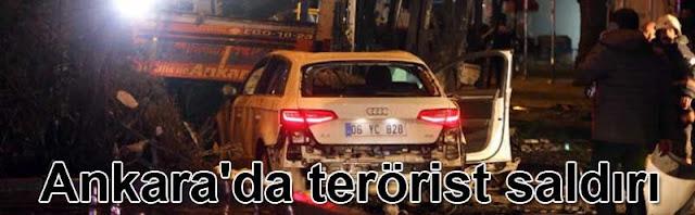 Ankara'da terörist saldırı | PKK  TAK şüphesi