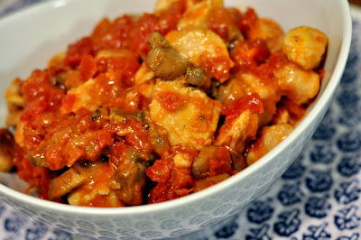 Simple Chicken Cacciatore | Taste As You Go