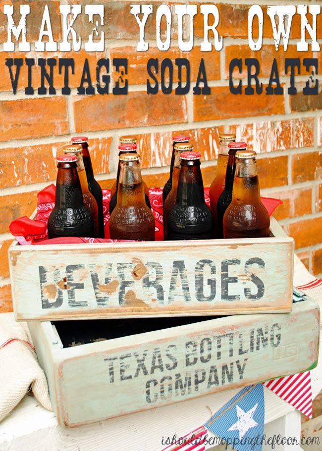 How to Make Wooden Soda Crates