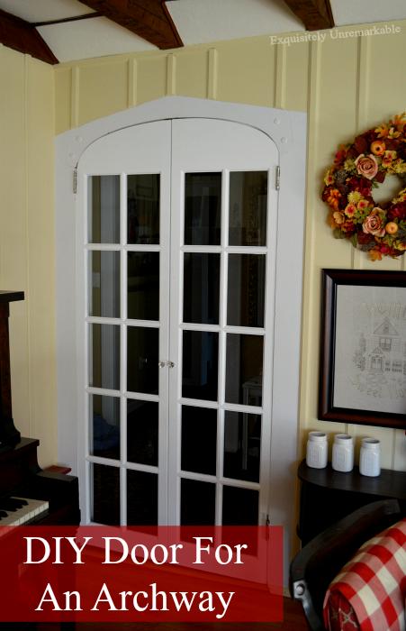 DIY Custom Archway Door