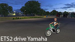 ETS2 Yamaha Motorcycle driving