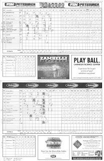 Pirates Scorecard, 07-01-06