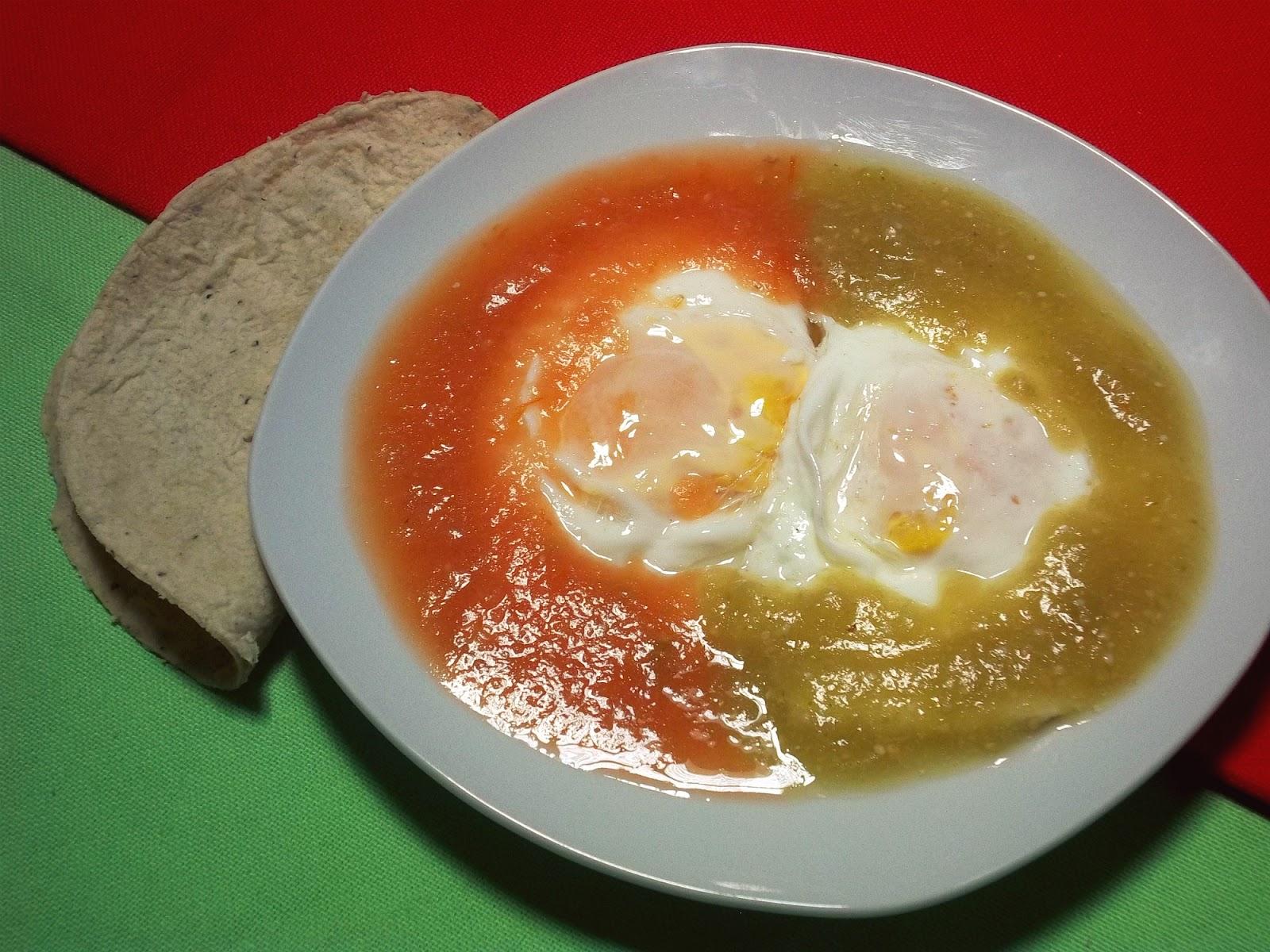 Huevos Divorciados La Cocina De Leslie