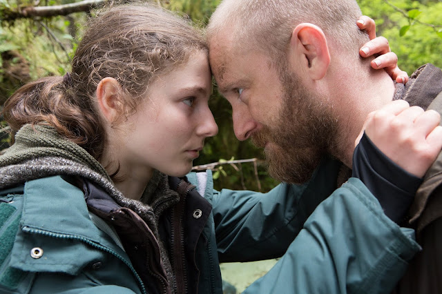 "Thomasin Harcourt McKenzie and Ben Foster in ""Leave No Trace"""