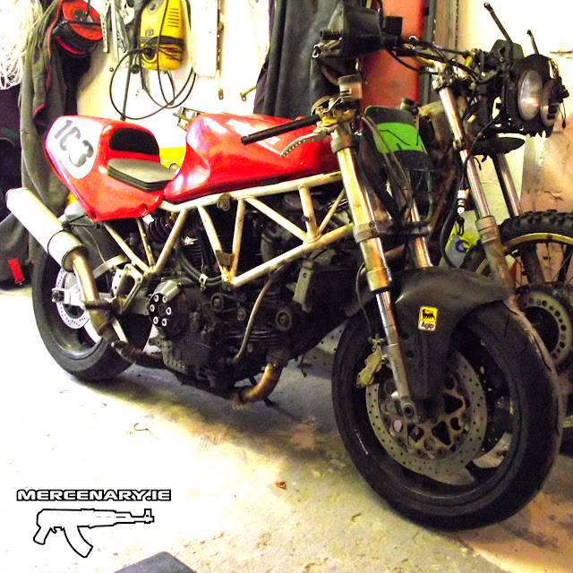 Mercenary Garage Ducati Superlight 900 SL #474