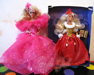 Сравнение кукол Barbie и Sindy 90-х годов фирмы Mattel и Hasbro