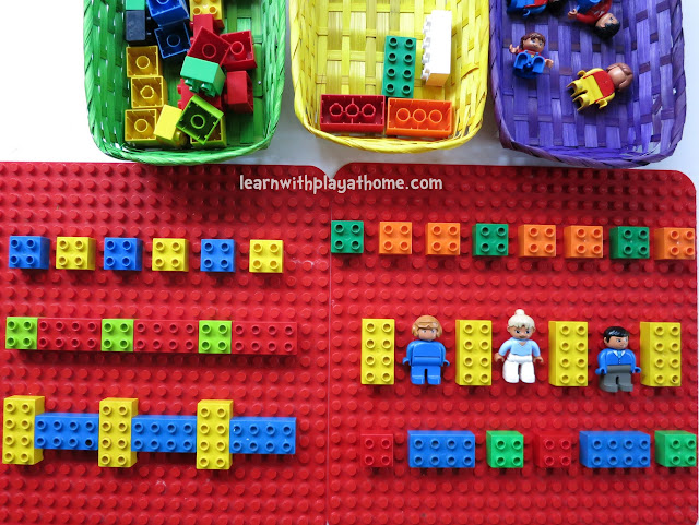 lego activity, duplo activity, lego maths