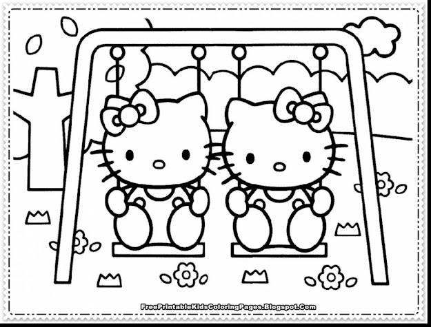 Spectacular Hello Kitty Coloring Pages With Hellokids Coloring Pages