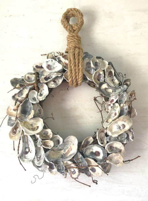 Oyster Shell Wreaths