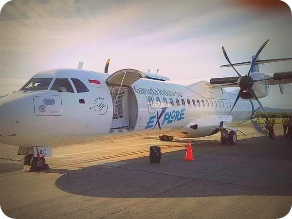 Garuda Indonesia Resmi Lalui Kaimana, Manokwari dan Nabire