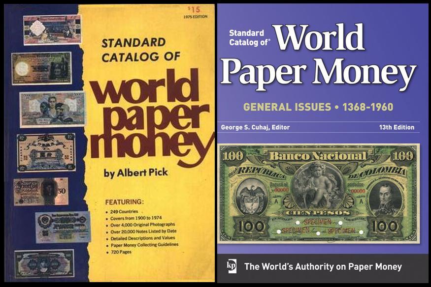 Sterling Numismática: STANDARD CATALOG OF WORLD PAPER ...