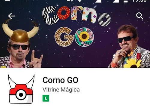 Pokemon Corno Go - Falcão