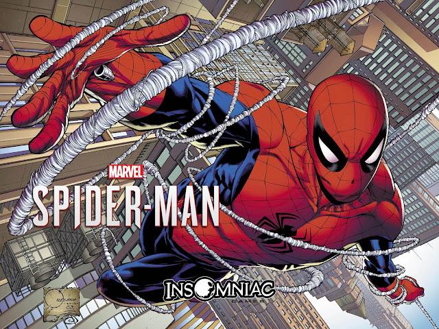 spider man ps4 comics